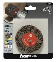 Piranha 80g Flap Wheel - 80X30mm